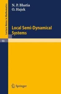 Local Semi-Dynamical Systems