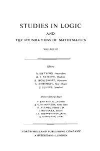 Logic Colloquium '69