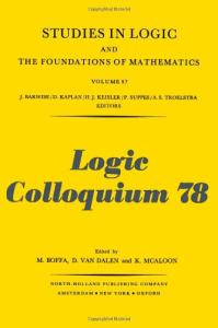 Logic colloquium '78: Proceedings Mons, 1978