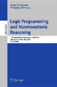 Logic Programming and Nonmonotonic Reasoning - LPNMR 2011