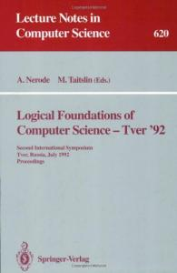Logical Foundations of Computer Science, LFCS '92