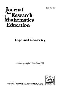 Logo and geometry (Journal for research in mathematics education)