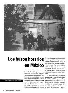 Los Husos Horarios En Mexico