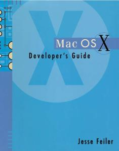 Mac OS X Developer's Guide