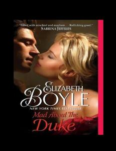 Mad About the Duke (Bachelor Chronicles, Book 7)