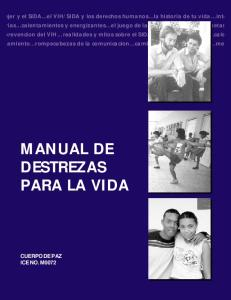 Manual Destrezas Para La Vida P1