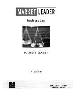 Market Leader: Business English with the ''Financial Times''