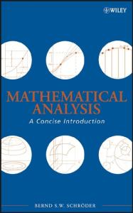 Mathematical Analysis: A Concise Introduction