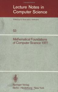 Mathematical Foundations of Computer Science 1977 6 conf