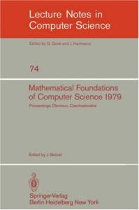 Mathematical Foundations of Computer Science 1979 8 conf