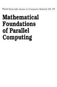 Mathematical foundations of parallel computing