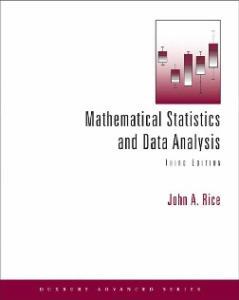 Mathematical Statistics and Data Analysis 3ed (Duxbury Advanced)