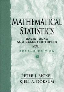 Mathematical statistics,