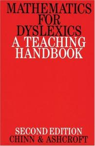 Mathematics for Dyslexics: A Teaching Handbook