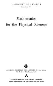 Mathematics for the physical sciences (Collection Enseignement des sciences Hermann)