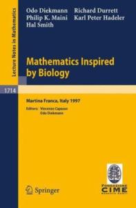 Mathematics inspired by biology: Lectures