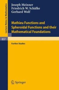 Mathieu functions and spheroidal functions