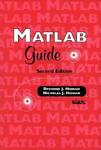 MATLAB Guide, Second Edition