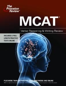 MCAT Verbal Reasoning & Writing Review (Graduate School Test Preparation)