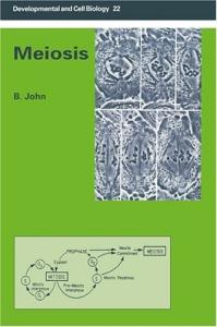 Meiosis (Developmental and Cell Biology Series)
