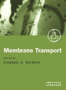 Membrane Transport: A Practical Approach