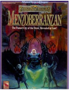 Menzoberranzan: Boxed Set (Advanced Dungeons & Dragons, 2nd Edition)