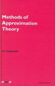 Methods of approximation theory