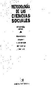 Metodologia De Las Cs Sociales [caps 1 2y3]