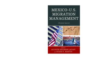 Mexico-U.S. Migration Management: A Binational Approach (Program in Migration and Refugee Studies)