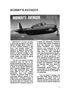 Midway's Avenger And Dauntless