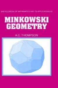 Minkowski Geometry (Encyclopedia of Mathematics and its Applications)