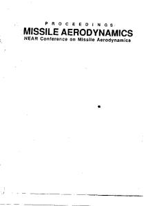 Missile Aerodynamics: Proceedings