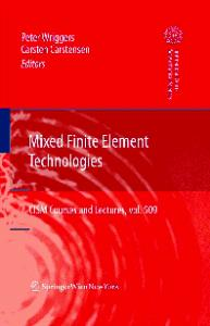 Mixed finite element technologies