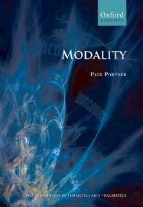 Modality (Oxford Surveys in Semantics and Pragmatics)
