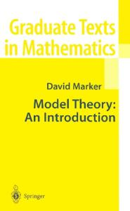 Model Theory: An Introduction