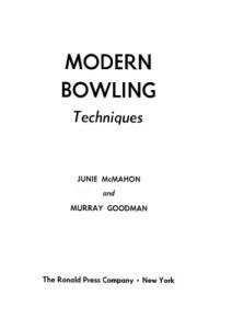 Modern Bowling Techniques