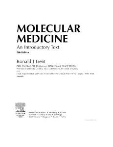 Molecular Medicine, Third Edition