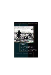 Mythical Man-Month: Essays on Software Engineering