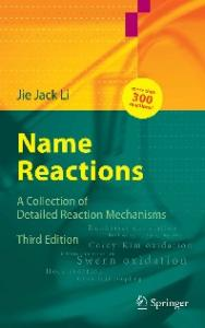 Name Reactions, Third Expanded Edition