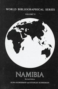 Namibia (World Bibliographical Series)