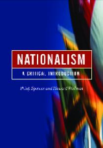 Nationalism: A Critical Introduction