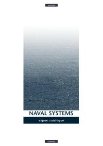Naval Systems. Export Catalogue