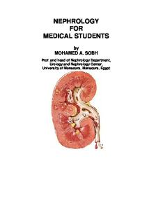 Nephrology for medical students