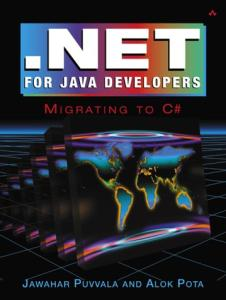 NET for Java Developers: Migrating to C#
