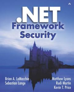 NET Framework Security