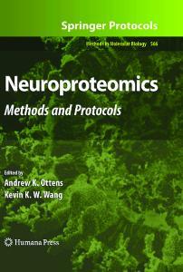 Neuroproteomics: Methods and Protocols (Methods in Molecular Biology, Vol 566)