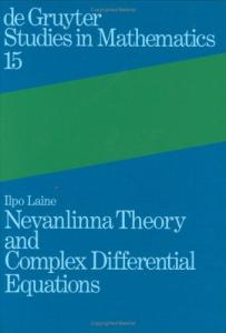Nevanlinna theory and complex differential equations