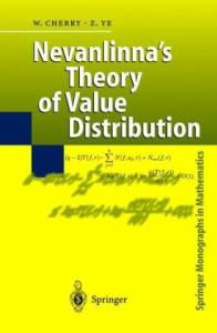 Nevanlinna's Theory of Value Distribution: The Second Main Theorem and its Error Terms (Springer Monographs in Mathematics)