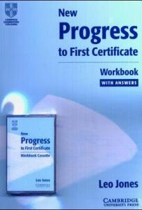 New progress to first certificate. Workbook