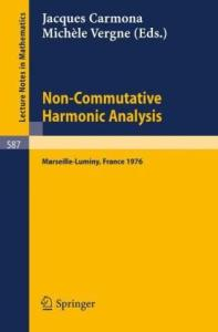 Non-Commutative Harmonic Analysis